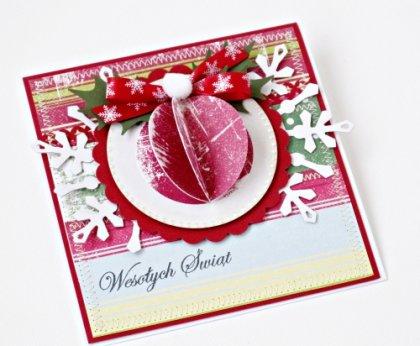 Kartka Świąteczna z bombką - Święta i okazje - DecoBazaar