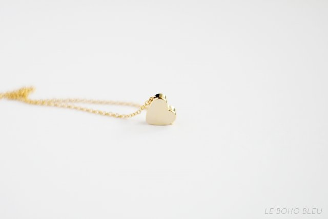 16k Gold Plated Heart Necklace