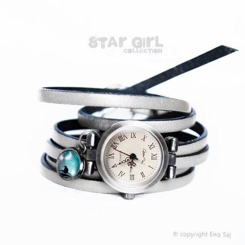 Star Girl (Dach) bransoletka - zegarek silver