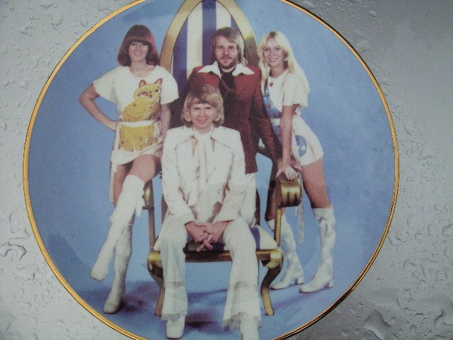 ABBA Colectors Plate   by Lawrence Seymour
