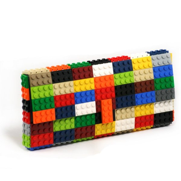 23c2bdd1ca0ac Torebka kopertówka z klocków LEGO® - multikol - Torebki - DecoBazaar