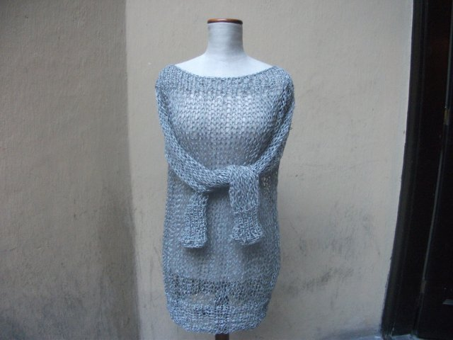 SWETER KOLCZUGA HAND MADE BY MARYLA ZABORSKA