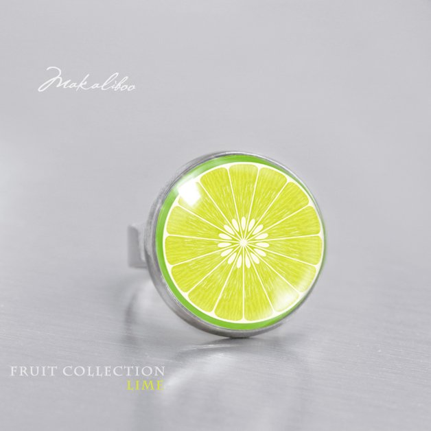 Fruit Collection Lime - simple ring