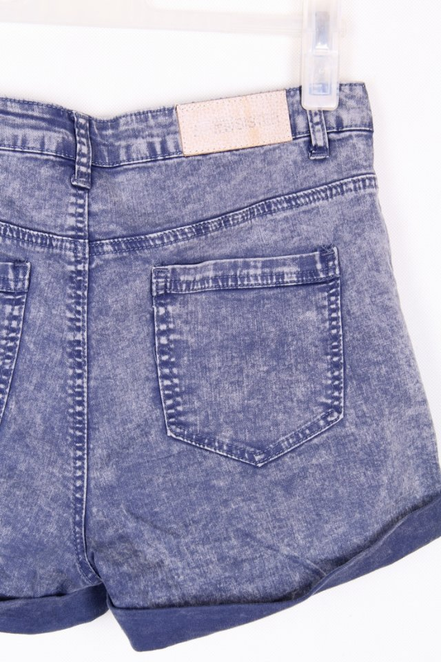 fb sister denim shorts