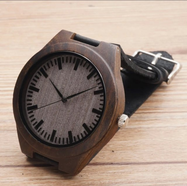 Men wood black