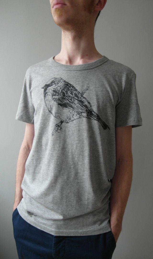 Wróbel - koszulka męska