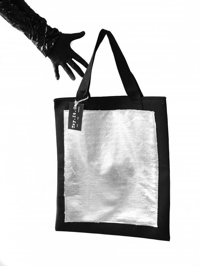 Torba Black Square100% vege