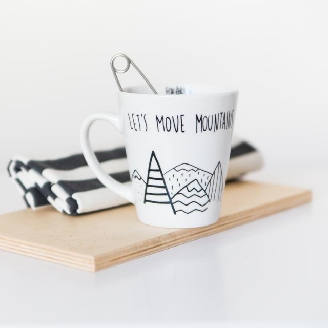 let's move mountains | kubek 400 ml