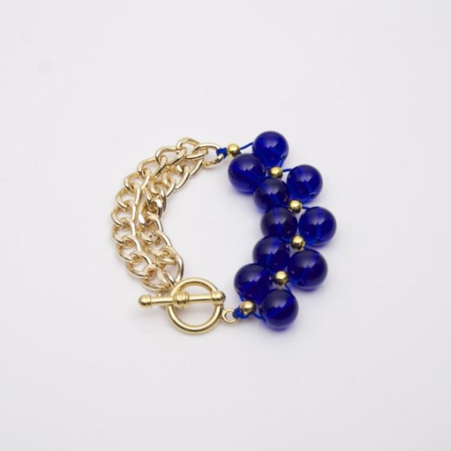 Stardust Navy & Gold