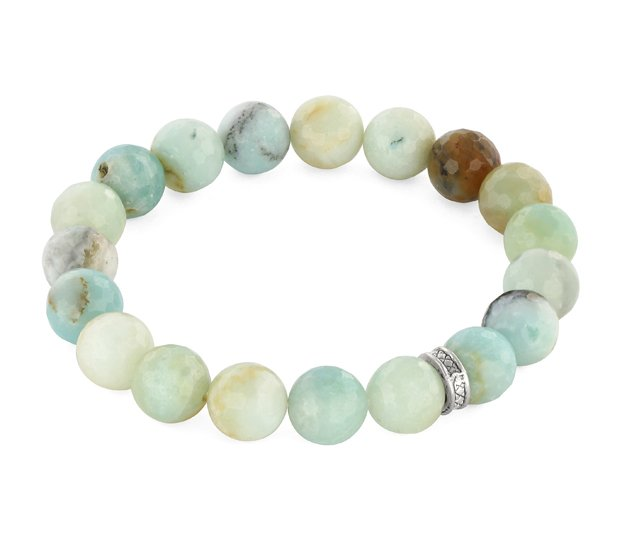 AMAZONITE WITH BEAD.