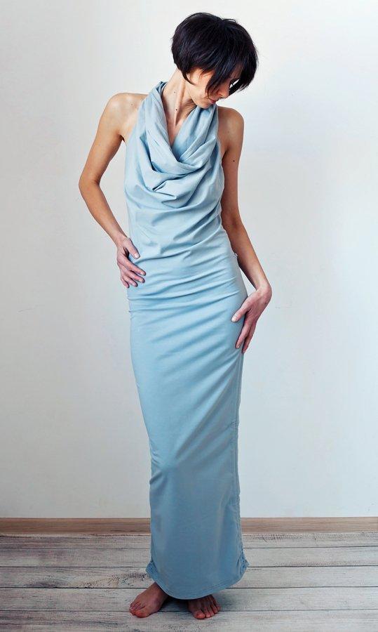0f5de1ca9b Szaro-gołębia sukienka one size odkryte plecy MoreLove TANTRA ...