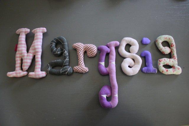 literki na zamówienie MARYSIA