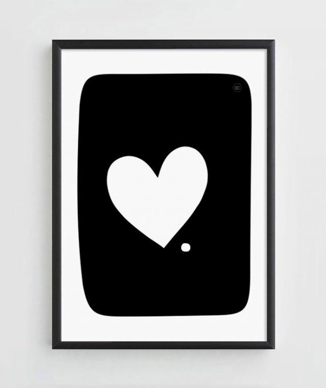 """Ilustracja A3 """"Miłość i Kropka"""""""