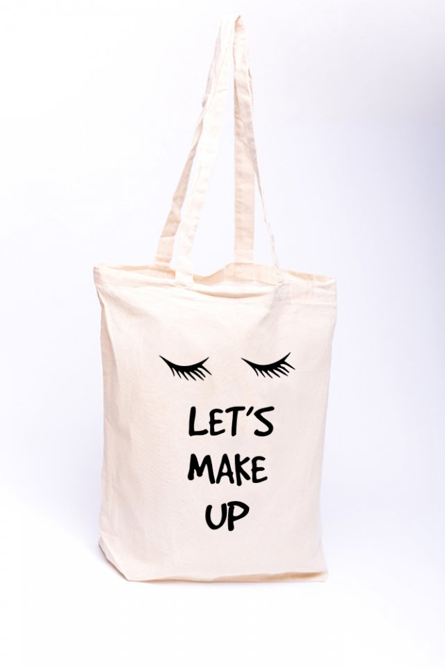 Torba z nadrukiem - Let's make up
