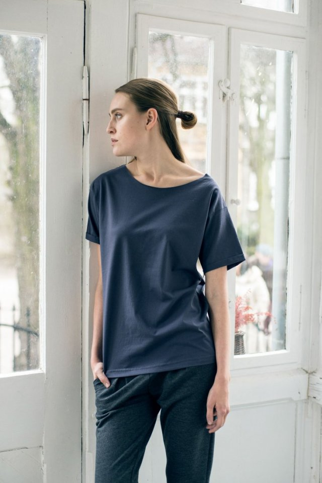 NATURE GRAPHITE Oversize T-shirt