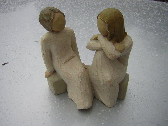 heart and soul  2002 Susan Lordi Willow Tree  Demdaco kolekcjonerska figurka