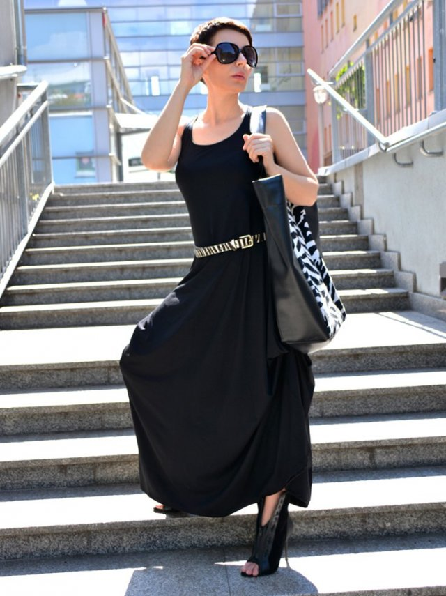 BOKSERKA MAXI BLACK by momo