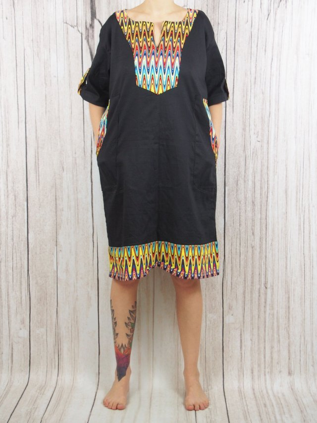 african style plus size