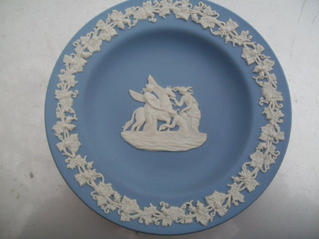 Wedgwood Antique blue jasper