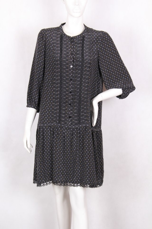 Gerard Darel Silk Dress 40