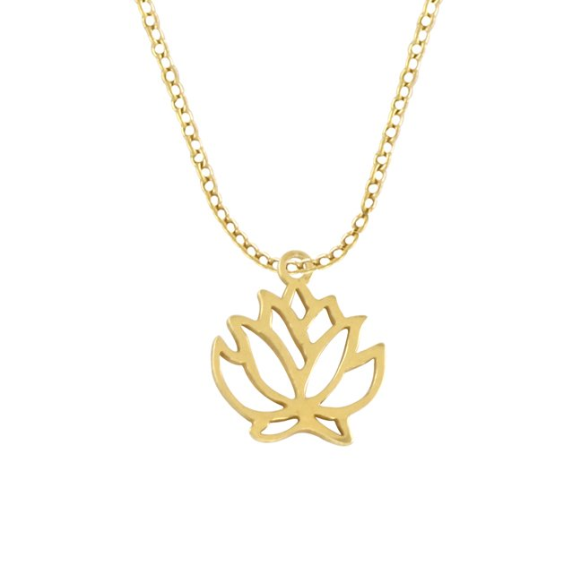 CELEBRATE - LOTUS - NECKLACE G