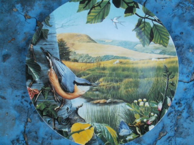 "Wedgwood  britain's beautiful  Birds by Leighton moses ""the vantage point  """