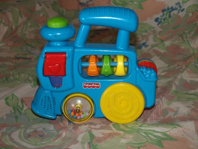 fisher price wesoła lokomotywa