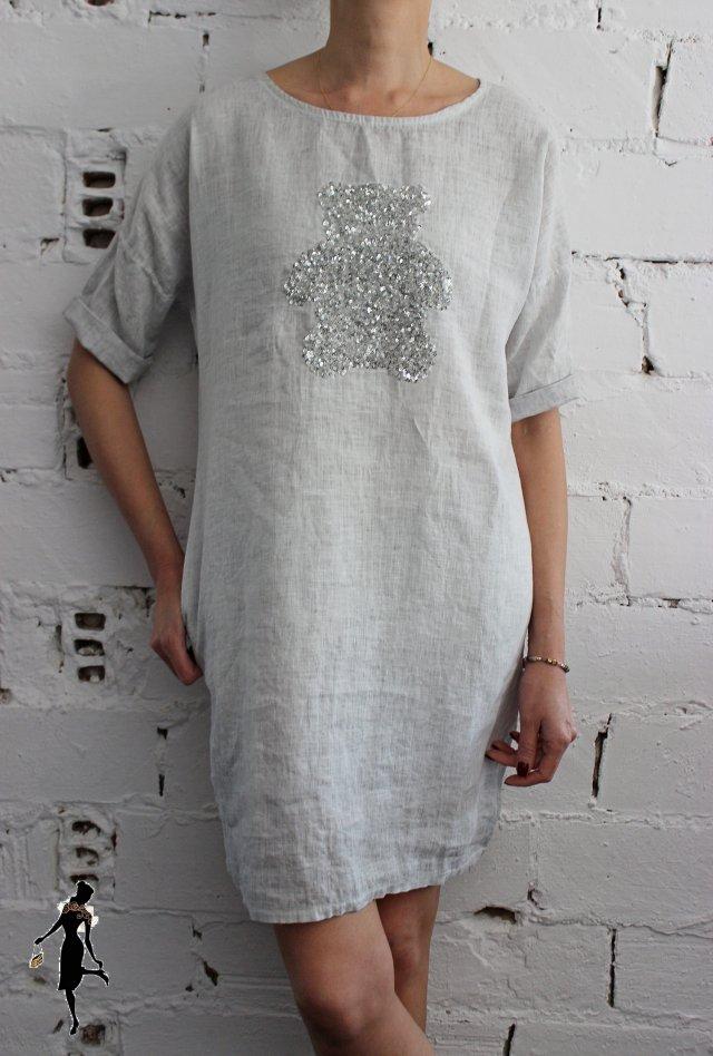 e10d744d1c Sukienka włoska z kieszeniami rozmiar uniwersalny - Ubrania vintage ...