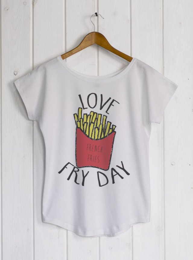 Fry Day white/grey