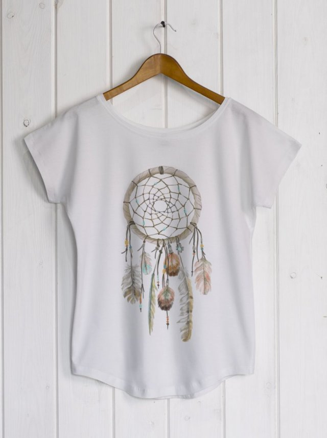 Dreamcatcher white/grey