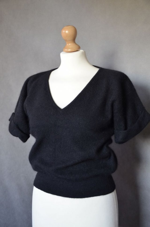 SWETER MICHAEL CARRIE ANGORA WEŁNA 36/S