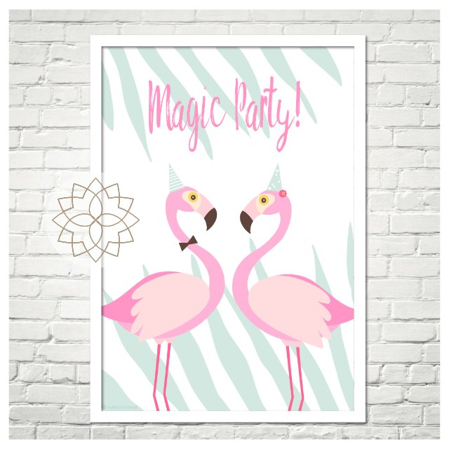"Plakat ""Magic Party"" 50x70 cm"