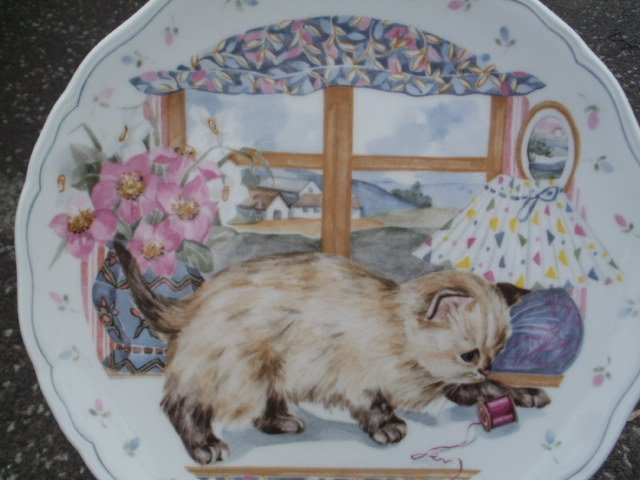 Royal Albert 1988 the  country kitten collection   nr. 2 w serii