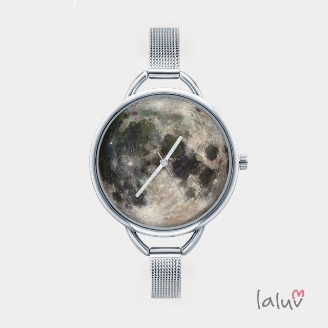 Zegarek z grafiką MOON
