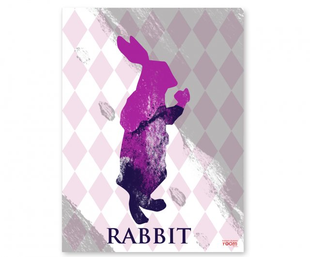 PLAKAT RABBIT