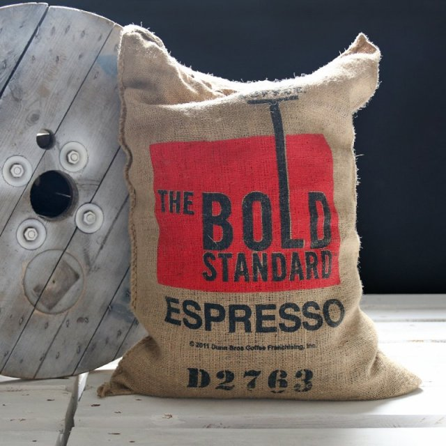 Poducha - Burlap Coffee Bag - USA