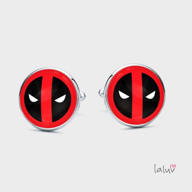 Spinki do mankietów DEADPOOL