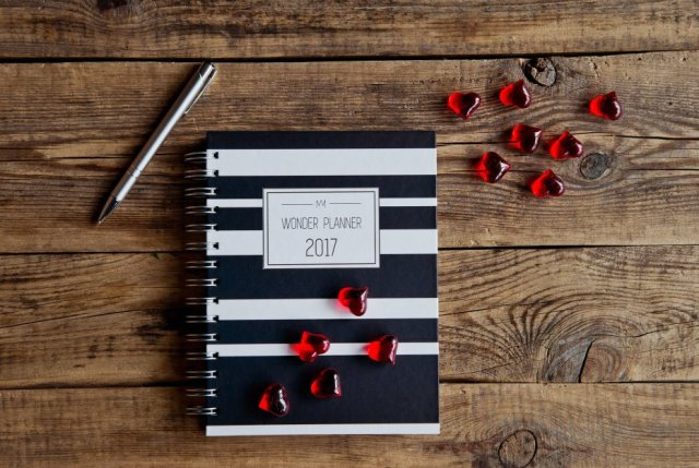 BLACK&WHITE Wonder Planner 2017
