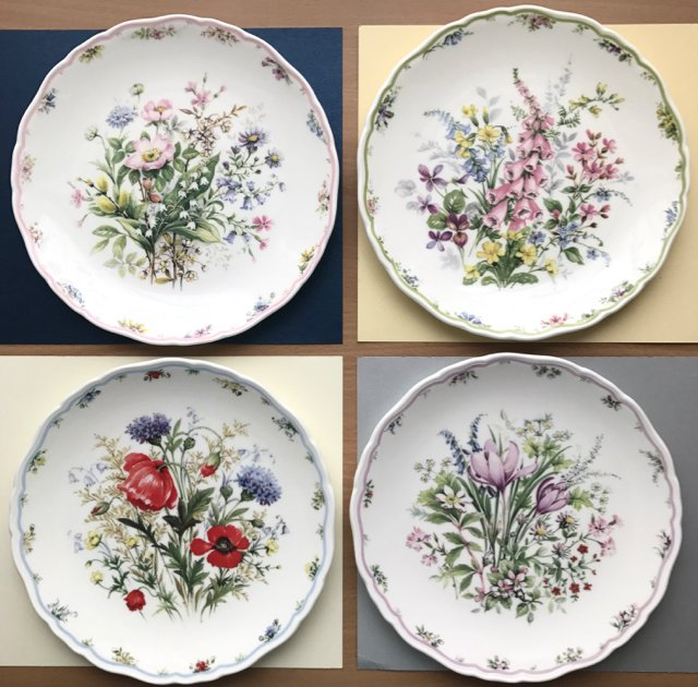 Royal Albert 1990. ❤ The Country Bouquet Collection ❤ Woodland Welcome