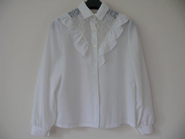 054f173b3614cb Bluzka koronkowa - panna z towarzystwa - Ubrania vintage - DecoBazaar