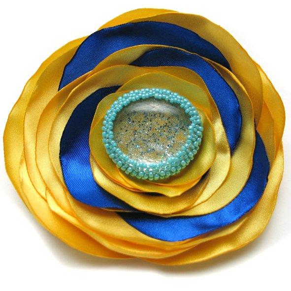 Misterny Radosny Kwiat Z Błyskiem Biżuteria Decobazaar