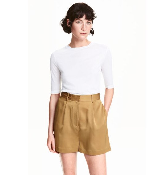 H&M Premium Silk Shorts