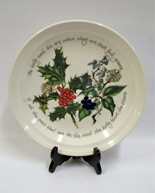 PORTMEIRION THE HOLLY & THE IVY TALERZ 21,5 CM NOWY