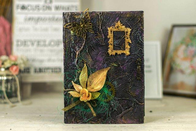 5c82e36113174 Ręcznie robiony notes pamiętnik w stylu vintage - prezent - Dom ...
