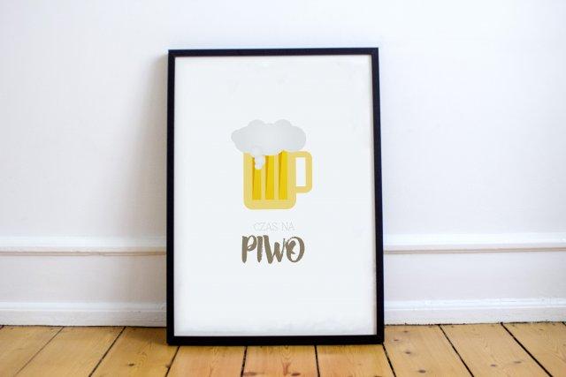 A4 Plakat Piwo