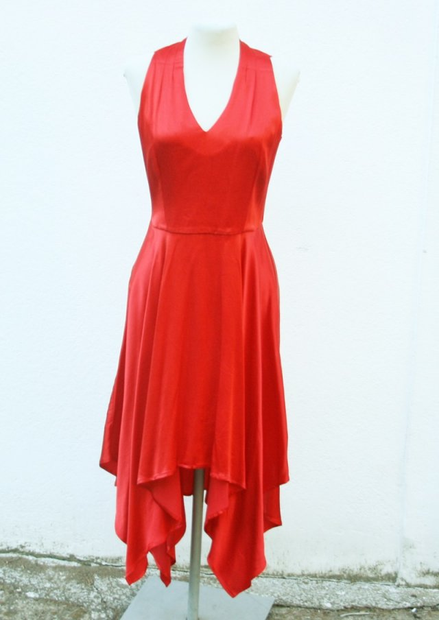 RED DRESS 34 MOHITO