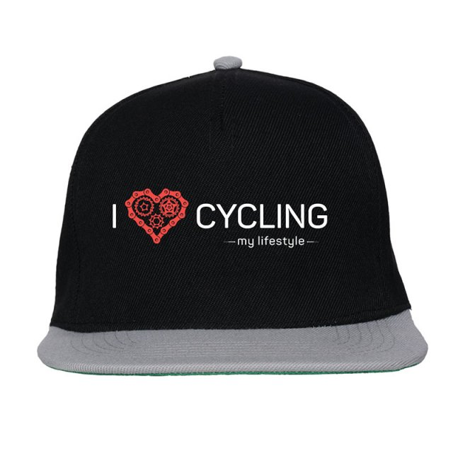 Czapka FullCap. I love cycling - my lifestyle