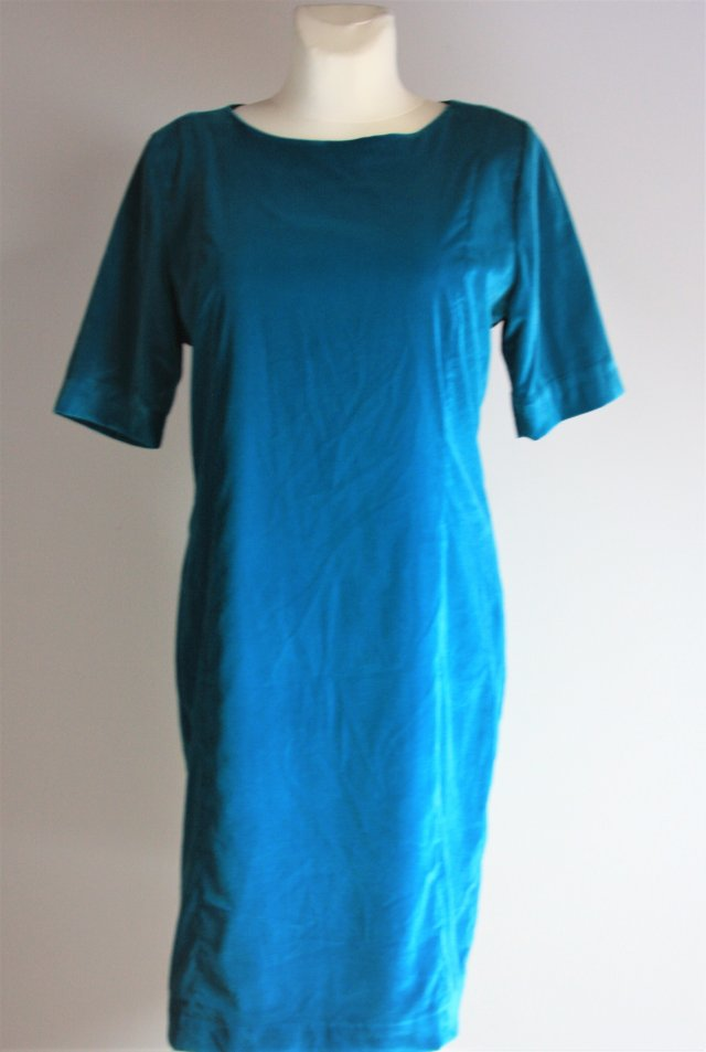 House of Bruar velvet dress