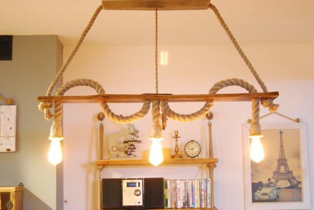 lampy sufitowe na desce