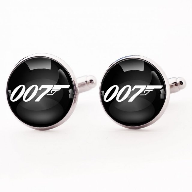 James Bond 007 - spinki do mankietów - Egginegg